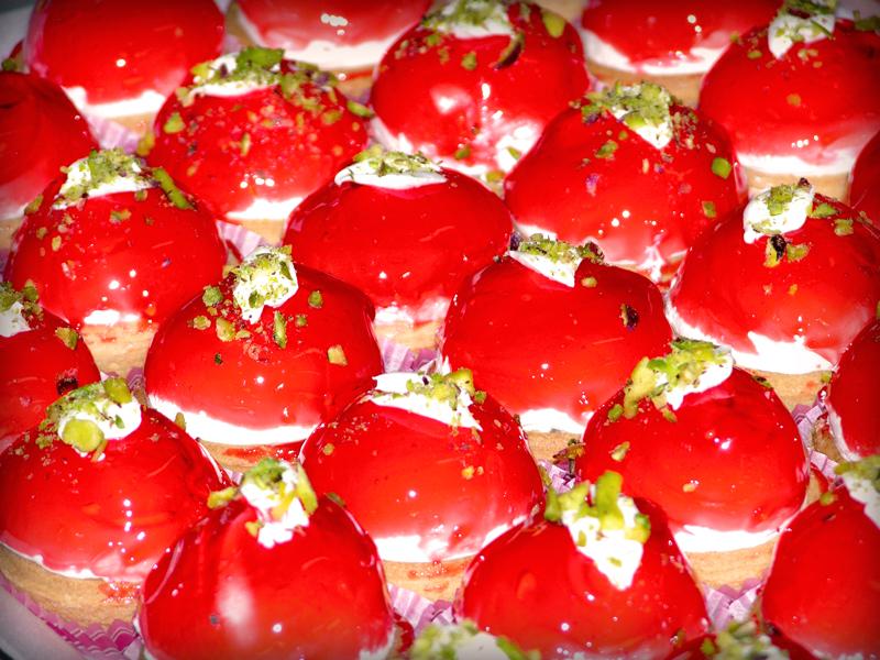 Ταρτάκια Φράουλας