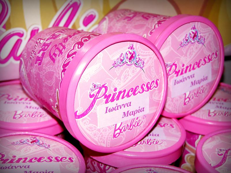 Barbie Princess - Κυπελάκια